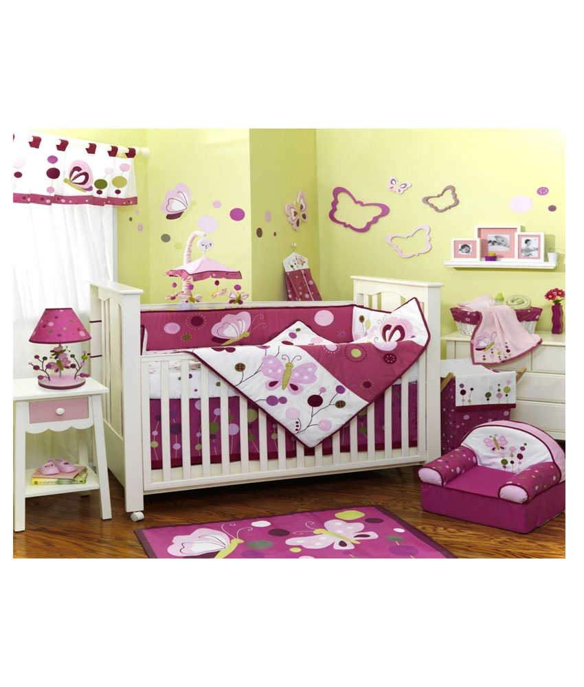 Decorated Baby Room Set